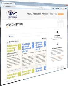 Prossimi eventi IAC Italia