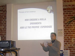 Conferenza a Milano (2009)