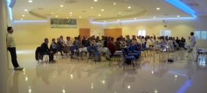 Salone_Campo Omeostatico dibattito dopo sessione pratica