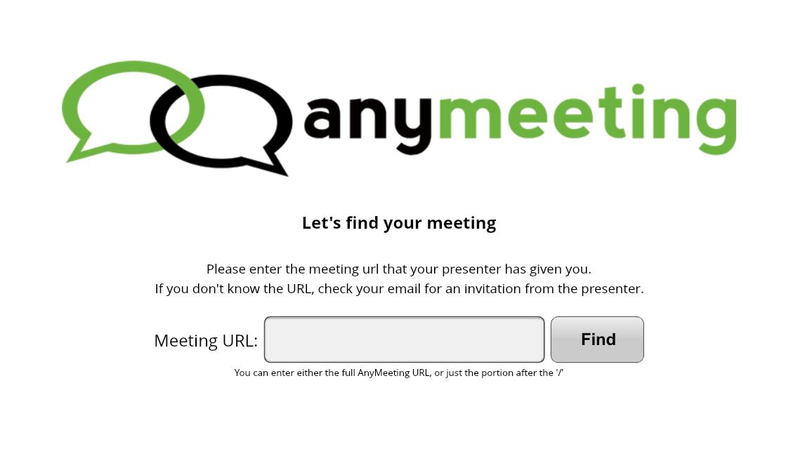 Inserire l'URL dell'evento
