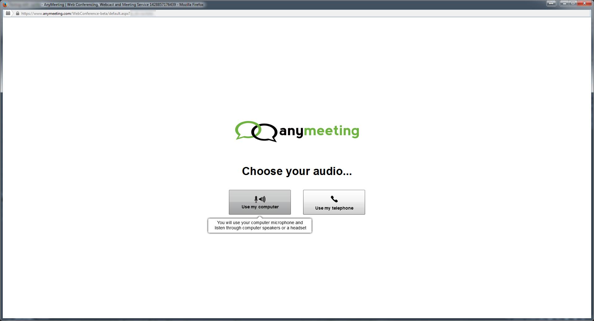 Seleziona opzione audio